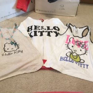 Tops - Juniors L hello kitty haul